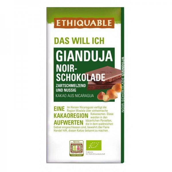 Bio-Schokolade Gianduja