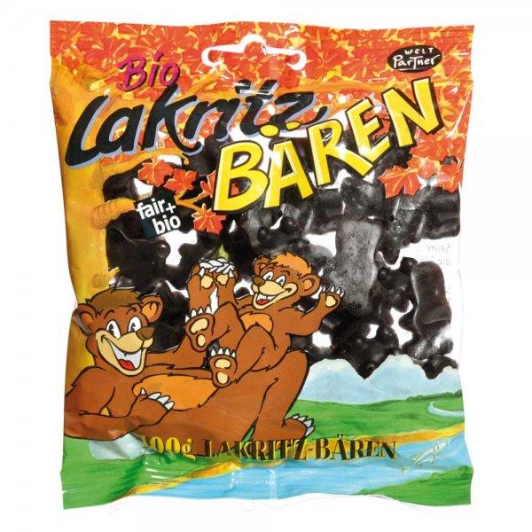 Lakritz Bären-Bio-Lakritz Bären aus Fairem Handel-Fairer Handel mit Süßigkeiten-Fair Trade Bio-Lakritz Bären