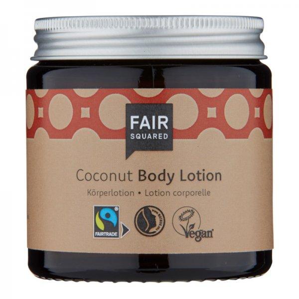 Body Lotion Coconut-Naturkosmetik Body Lotion aus Fairem Handel Fair Squared-Fairer Handel mit Naturkosmetik und Oelen-Fair Trade Naturkosmetik vegan halal