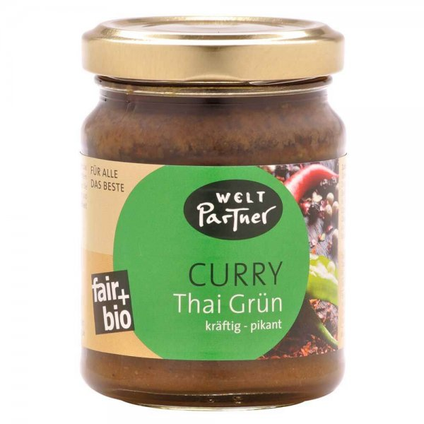 Bio-Thai Curry, grün