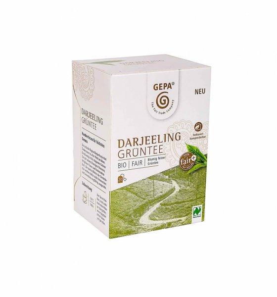 Bio-Grüntee Darjeeling-Bio-Gruentee aus Fairem Handel von GEPA-Fairer Handel mit Tee und Gruentee-Fairtrade Bio-Gruentee aus Darjeeling, Indien