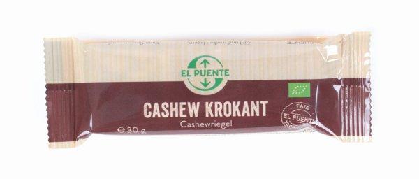 Bio-Cashew-Krokant-Riegel
