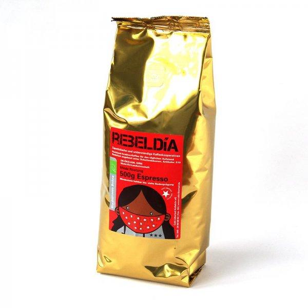 Bio-Espresso RebelDia, ganze Bohne