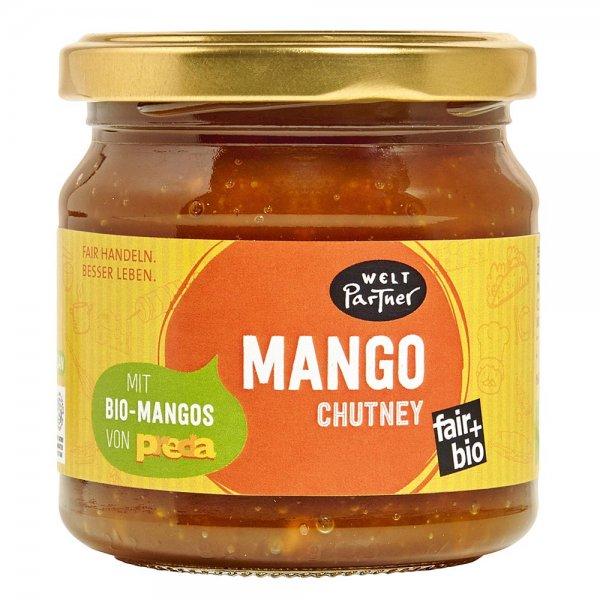 Bio-Mango Chutney-Bio-Mango Chutney aus Fairem Handel von Weltpartner-Fairer Handel mit Mango und Zucker-Fair Trade Bio-Mango Chutney von PREDA Philippinen