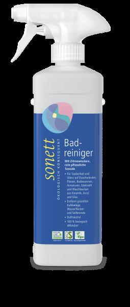 Sonett Badreiniger - 500 ml Sprühflasche-pflanzlicher Oeko-Badreiniger ohne Petrochemie Sonett-Reinigungsmittel oekoglogisch und sozial gerecht produziert-Oeko-Badreiniger von Sonett