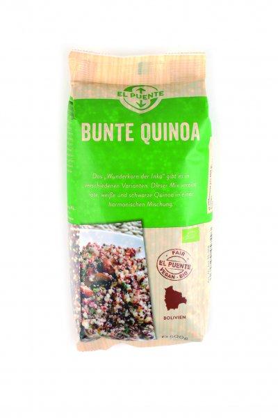 Quinoa, bunt