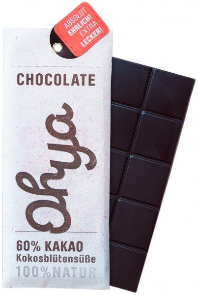 Bio-Schokolade Ohya-Bio-Schokolade aus Fairem Handel-Fairer Handel mit Kakao-Fair Trade Bio-Schokolade pur
