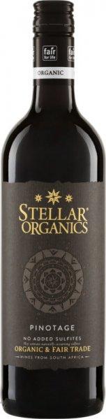 Bio-Pinotage 2020 - Stellar Organics-Bio-Rotwein Pinotage trocken aus Fairem Handel Stellar Organics-Fairer Handel mit veganen Weinen aus Suedafrika-Fairtrade Bio-Rotwein schwefelfrei von Riegel Bioweine