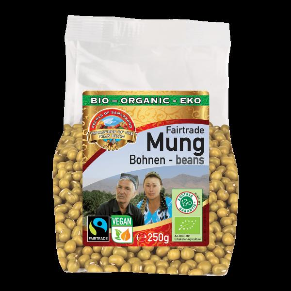 Bio-Mungbohnen-Bio-Mungbohnen aus Fairem Handel Lemberona-Fairer Handel mit Huelsenfruechten und Bohnen-Fairtrade Bio-Mungbohnen von Kleinbauern aus Usbekistan