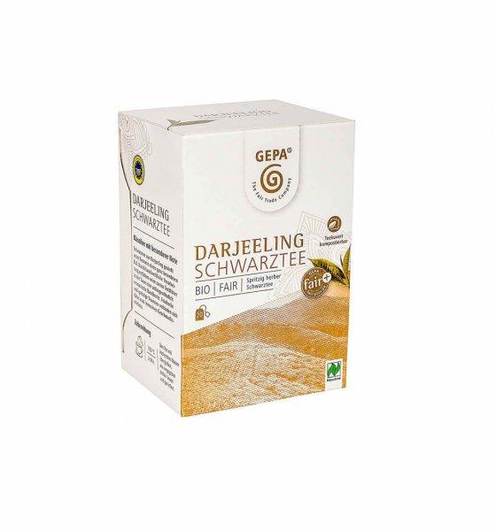 Bio-Schwarztee Darjeeling-Darjeeling Bio-Schwarztee aus Fairem Handel von GEPA-Fairer Handel mit Tee und Schwarztee-Fairtrade Bio-Schwarztee aus Darjeeling Indien