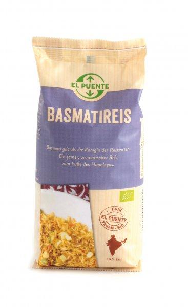 Bio-Basmatireis, weiß