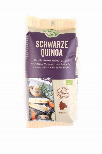 Bio-Quinoa, schwarz