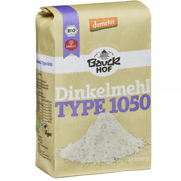 Bio-Dinkelmehl Type 1050, Demeter-Demeter Bio-Dinkelmehl aus Fairem Handel von Bauck Hof-Fairer Handel mit Mehl, Dinkel und Weizen in Europa-Fairtrade Bio-Dinkelmehl von Bauern aus Deutschland