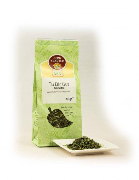 Tu Dir Gut Bio-Kräutertee-Bio-Kraeutertee Entspannungstee aus Fairem Handel-Fairer Handel mit Tee und Kraeutern in Europa-Fairtrade Bio-Kraeutertee aus Oesterreich