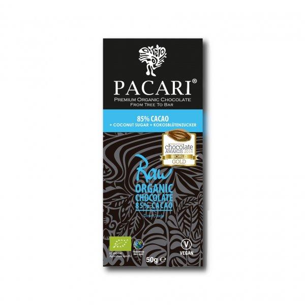 Bio-Schokolade aus Rohkakao, 85%-Rohkakao Bio-Schokolade aus Fairem Handel von Pacari-Fairer Handel mit Schokolade und Rohkakao-Fairtrade Bio-Schokolade aus Rohkakao Ecuador