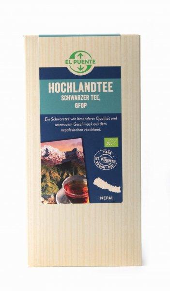 Bio-Schwarztee Nepal Hochland, GFOP-Bio-Schwarztee Hochland Himalaya aus Fairem Handel-Fairer Handel mit Tee-Fairtrade Bio-Schwarztee aus dem Hochland Nepal