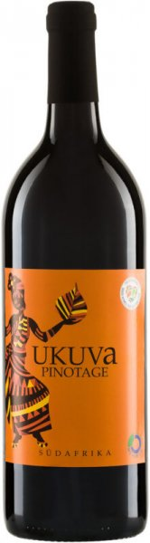 Bio-Pinotage 2018 - UKUVA-veganer Bio-Rotwein trocken Pinotage aus Fairem Handel von Riegel-Fairer Handel mit Wein und Rotwein-Fairtrade Bio-Rotwein Pinotage vegan aus Suedafrika