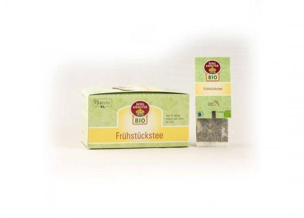 Bio-Frühstückstee im XL-Teebeutel-Bio-Fruehstueckstee Kraeutertee aus Fairem Handel-Fairer Handel mit Tee und Kraeutern in Europa-Fairtrade Bio-Fruehstueckstee aus Oesterreich
