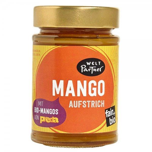 Bio-Mango-Fruchtaufstrich-Bio-Fruchtaufstrich Mango aus Fairem Handel von Weltpartner-Fairer Handel mit Fruechten und Mangos fuer Kinderrechte-Fairtrade Bio-Mango Marmelade von PREDA Philippinen