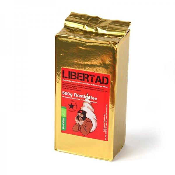 Bio-Roestkaffee Libertad, gemahlen