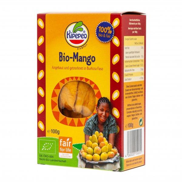 Bio-Mango, getrocknet-Bio-Mango getrocknet Rohkost aus Fairem Handel-Fairer Handel mit Fruechten und Rohkost-Fair Trade Bio-Mango von Kipepeo Burkina Faso