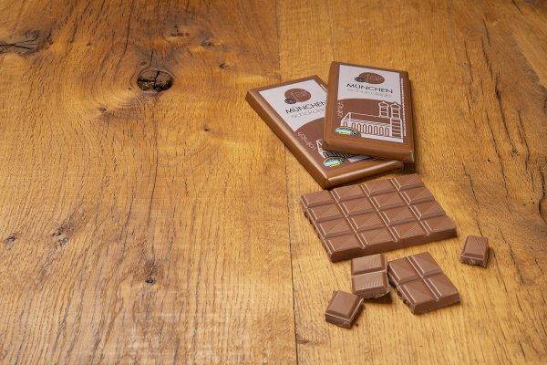 München Schokolade Vollmilch-Bio-Vollmilchschokolade München Schokolade von GEPA-Fairer Handel mit Schokolade und Kakao-Fairtrade München Schokolade aus Bolivien und Peru