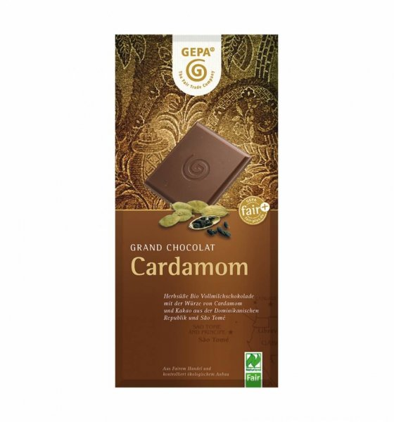 Bio-Schokolade Cardamom