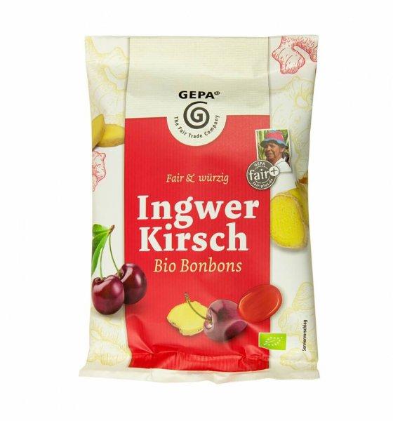 Bio-Bonbons Ingwer-Kirsch