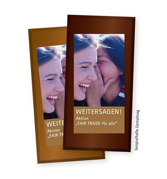 dein Design - Bio-Zartbitterschokolade