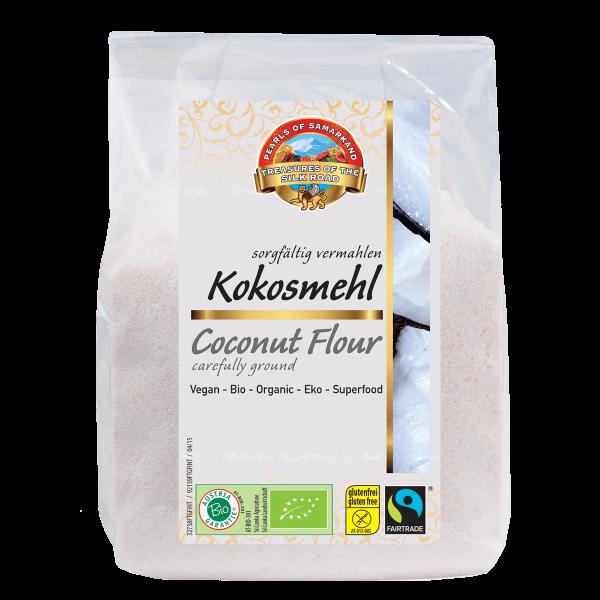 Bio-Kokosmehl-Bio-Kokosmehl glutenfrei aus Fairem Handel Lemberona-Fairer Handel mit Kokos und Mehl-Fairtrade Bio-Kokosmehl von Kleinbauern aus Sri Lanka