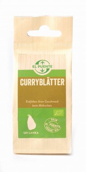 Bio-Curryblätter-Bio-Curryblaetter aus Fairem Handel von El Puente-Fairer Handel mit Gewuerzen und Curryblaettern-Fairtrade Bio-Curryblaetter von PODIE aus Sri Lanka