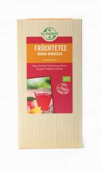 Bio-Früchtetee Mango-Maracuja-Bio-Fruechtetee Mango-Maracuja aus Fairem Handel-Fairer Handel mit Tee-Fair Trade Bio-Fruechtetee aus Burkina Faso Kosovo