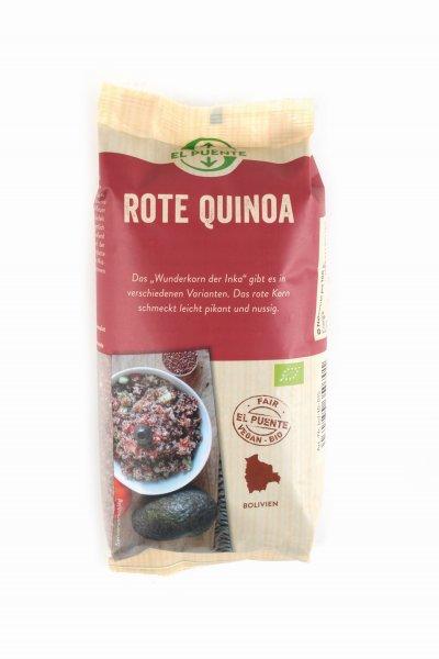 Bio-Quinoa, rot-Bio-Quinoa aus Fairem Handel-Fairer Handel mit Quinoa-Fair Trade Bio-Quinoa aus Bolivien