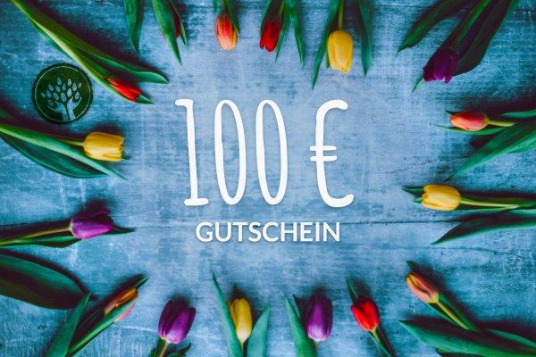 Gutschein 100 Euro-Geschenk Gutschein Bio-Sortiment Fairer Handel 100 Euro-Fairer Handel mit Geschenken und Gutscheinen-Fair Trade Bio-Geschenk-Gutschein von biotop