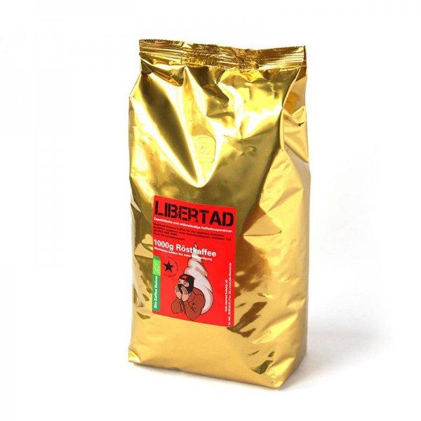 Bio-Röstkaffee Libertad, ganze Bohne