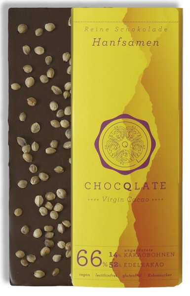 Virgin Cacao Schokolade Hanfsamen