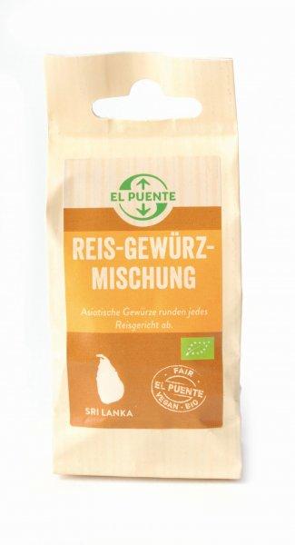 Bio-Reis-Gewürzmischung-Bio-Reis-Gewuerzmischung aus Fairem Handel-Fairer Handel mit Gewuerzen-Fair Trade Bio-Gewuerze aus Sri Lanka