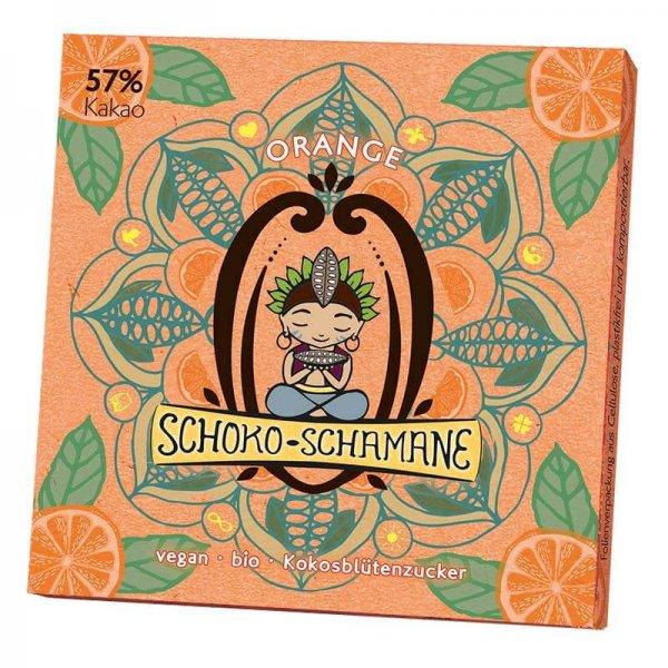 Bio-Schoko-Schamane, Orange