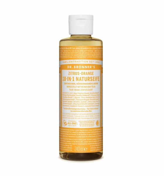 18-in-1 Naturseife Ztirus-Orange, 240 ml