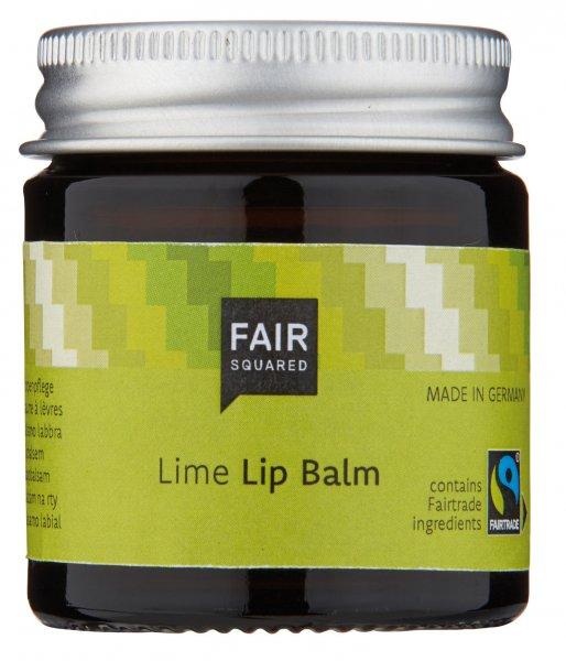 Lip Balm Lime, vegan-Naturkosmetik Lippenpflege Limette aus Fairem Handel von Fair Squared-Fairer Handel mit Naturkosmetik und Wellnessprodukten-Fairtrade Lip Balm Lippenpflege Limette natuerlich und vegan