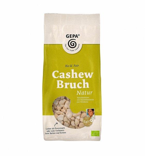 Bio-Cashewnüsse natur, Bruch-Bio-Cashewnuesse Bruch aus Fairem Handel von GEPA-Fairer Handel mit Nuessen und Fruechten-Fairtrade Bio-Cashewnuesse von GEPA aus Honduras