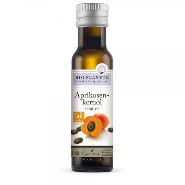 Bio-Aprikosenkernöl, kaltgepresst-natives Bio-Aprikosenkernoel aus Fairem Handel von Bio Planete-Fairer Handel mit Oelen und Kernen-Faitrade Bio-Aprikosenkernoel von Kleinbauern aus der Tuerkei