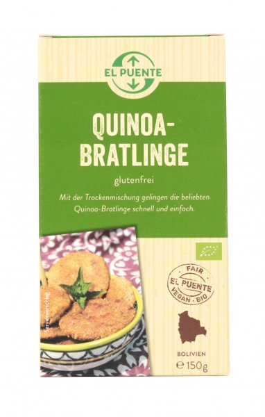 Bio-Quinoa Bratlinge