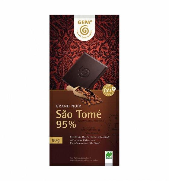 Bio-Zartbitterschokolade São Tomé-Bio-Schokolade Zartbitter vegan aus Fairem Handel-Fairer Handel mit Schokolade Kakao-Fair Trade Bio-Schokolade aus São Tomé