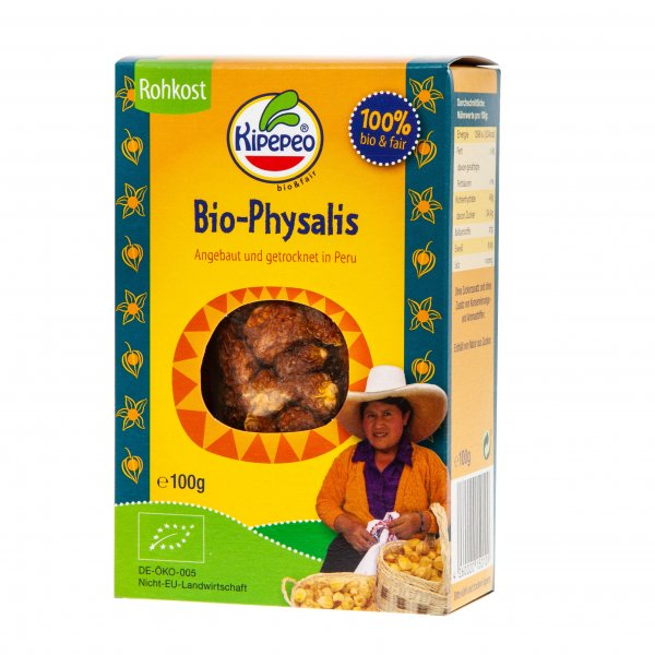 Bio-Physalis, getrocknet