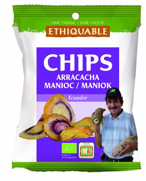 Bio-Arakacha-Maniok-Chips