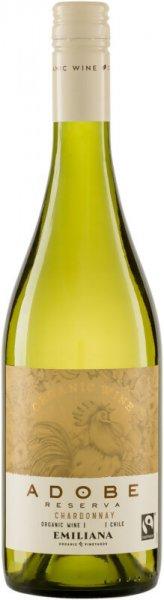 Bio-Chardonnay Reserva 2018 - Emiliana-Bio-Weisswein Chardonnay trocken aus Fairem Handel-Fairer Handel mit Weisswein und Wein-Fairtrade Bio-Weisswein von Emiliana Chile