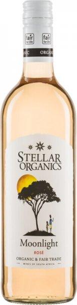 Bio-Rosé 'Moonlight' - Stellar Organics-Bio-Rosé Moonlight Rosewein aus Fairem Handel von Stellar Organics-Fairer Handel mit Wein und Rosewein aus Uebersee-Fairtrade Bio-Wein vegan Rosewein aus Suedafrika