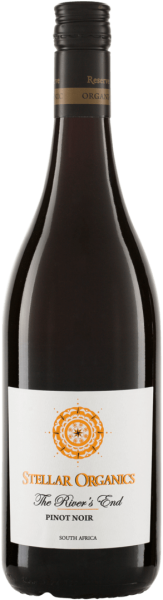 Bio-Pinot Noir 2015 'The River's End' - Stellar Organics-Bio-Rotwein aus Fairem Handel von Stellar Organics-Fairer Handel mit Wein und Rotwein-Fair Trade Bio-Rotwein aus Suedafrika