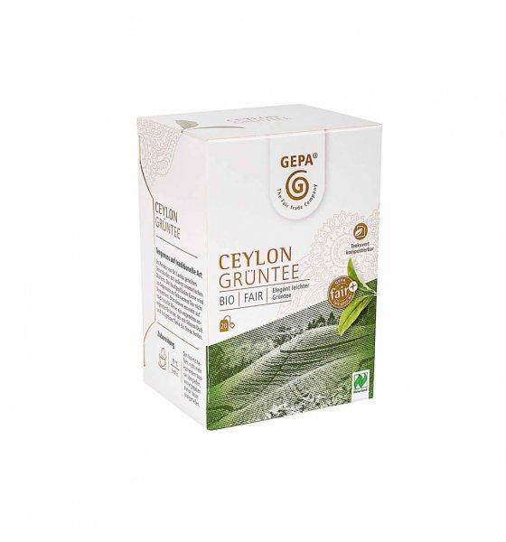 Bio-Gruentee Ceylon-Bio-Gruentee aus Fairem Handel von GEPA-Fairer Handel mit Tee und Gruentee-Fairtrade Bio-Gruentee aus Ceylon, Sri Lanka
